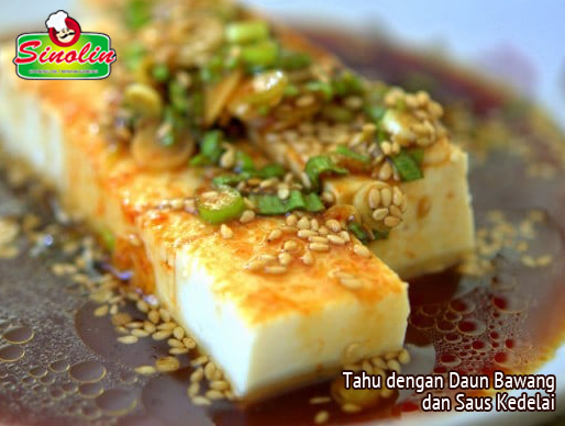 Tofu  Recipe with Scallions and Soy Sauce by Dapur Sinolin