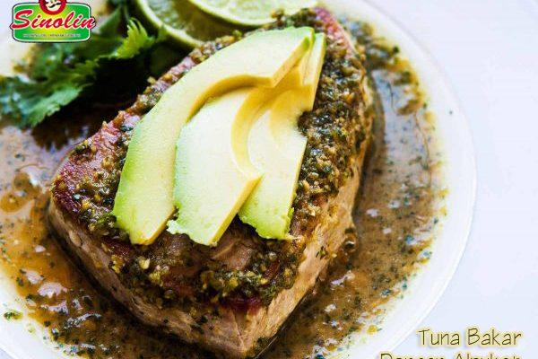 Resep Tuna Bakar Dengan Alpukat oleh Dapur Sinolin