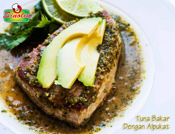 Seared Tuna with Avocado Recipe by Dapur Sinolin