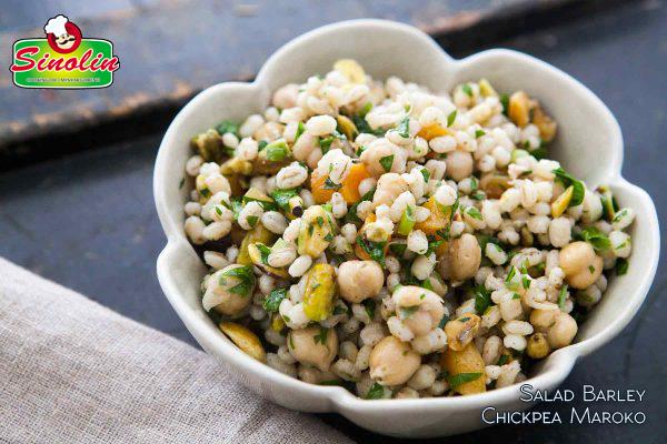 Resep Salad Barley Chickpea Maroko Oleh Dapur Sinolin
