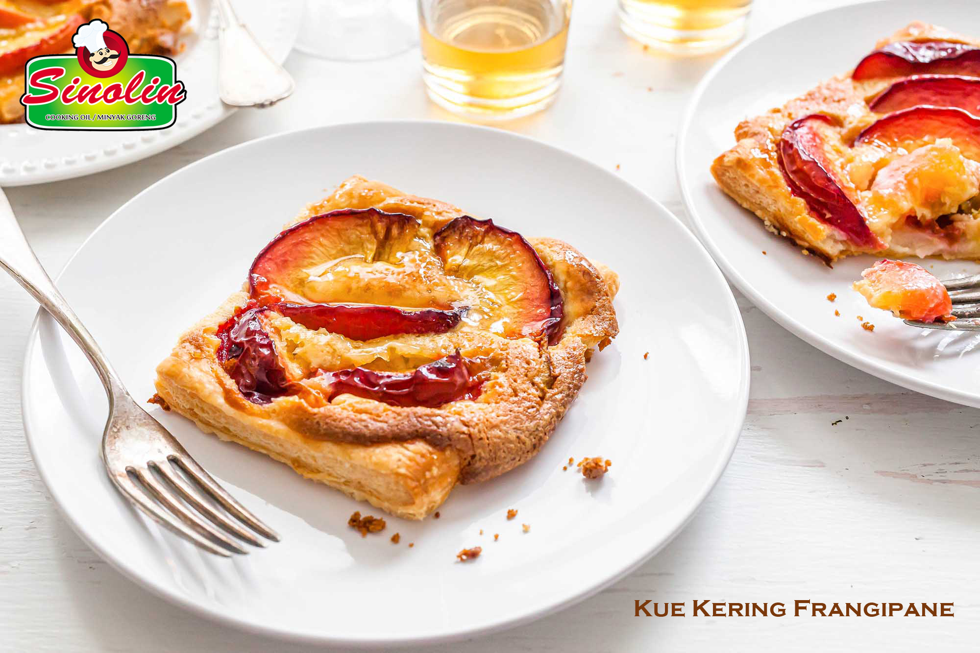 Resep Kue Kering Frangipane Puff Pastry oleh Dapur Sinolin