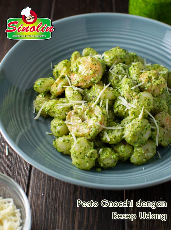Pesto Gnocchi Dengan Resep Udang oleh Dapur Sinolin