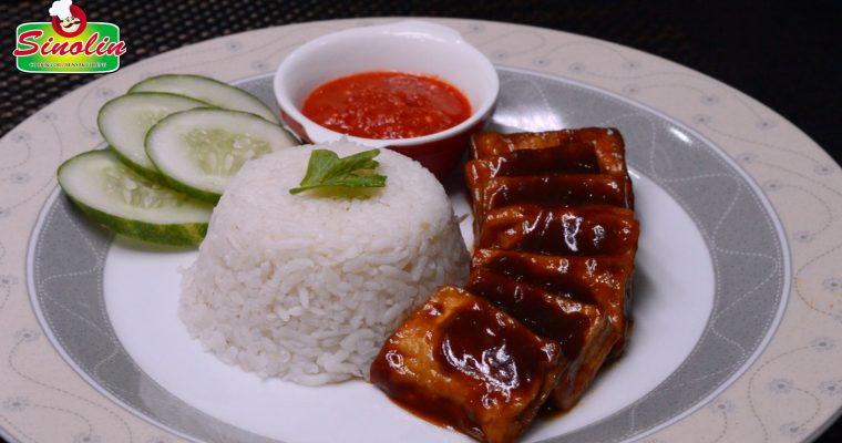 Nasi BBQ Cina Oleh Dapur Sinolin
