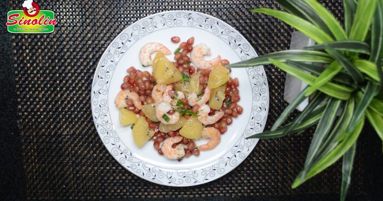 Resep Verrines Udang, Kiwi, dan Delima oleh Dapur Sinolin