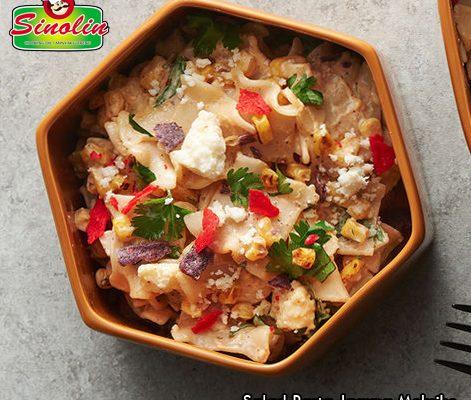 Mexican Corn Pasta Salad Recipe by Dapur Sinolin