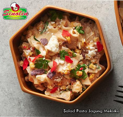 Resep: Salad Pasta Jagung Meksiko oleh Dapur Sinolin