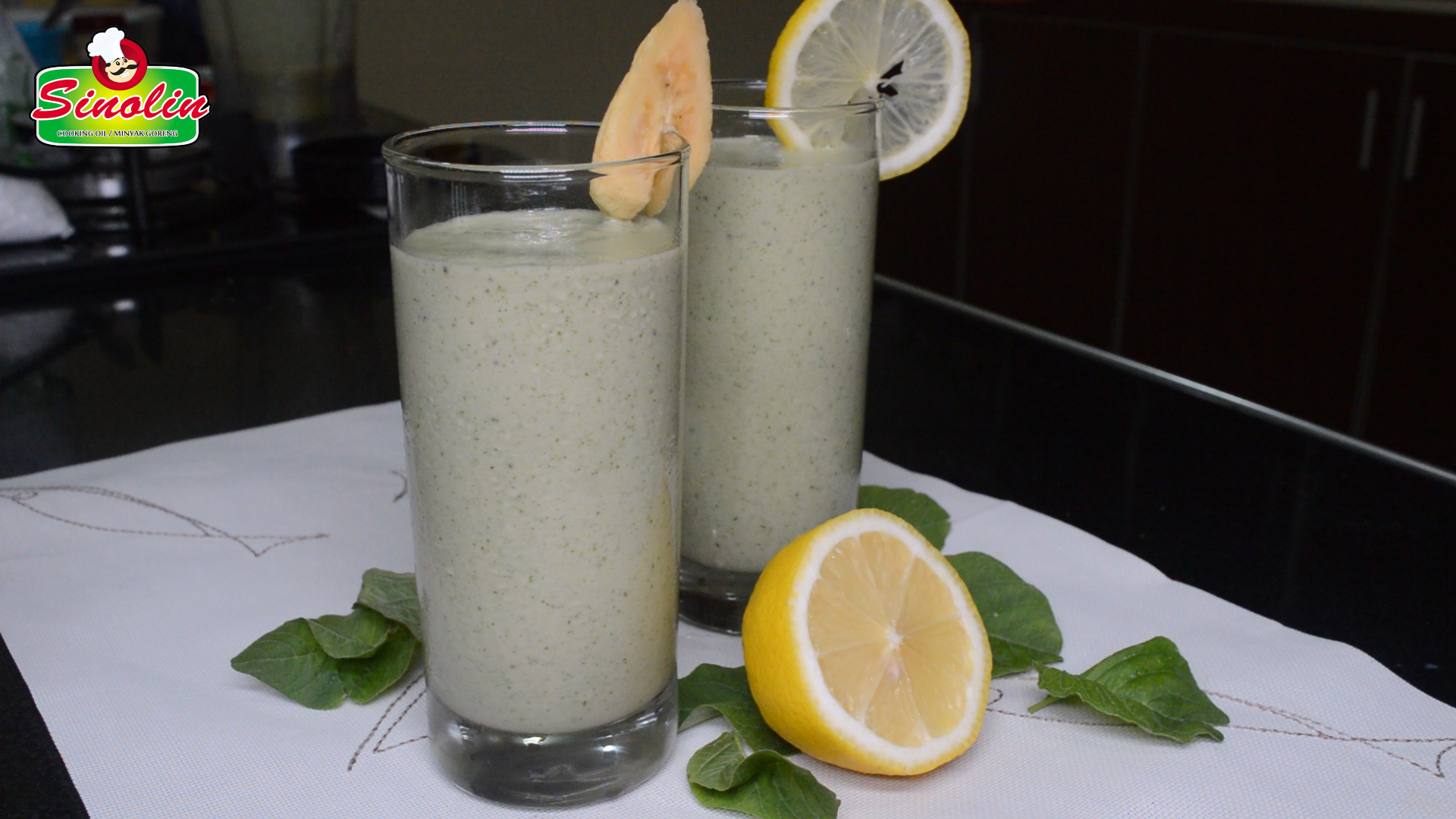 Smothie Jahe dengan lemon Oleh Dapur Sinolin