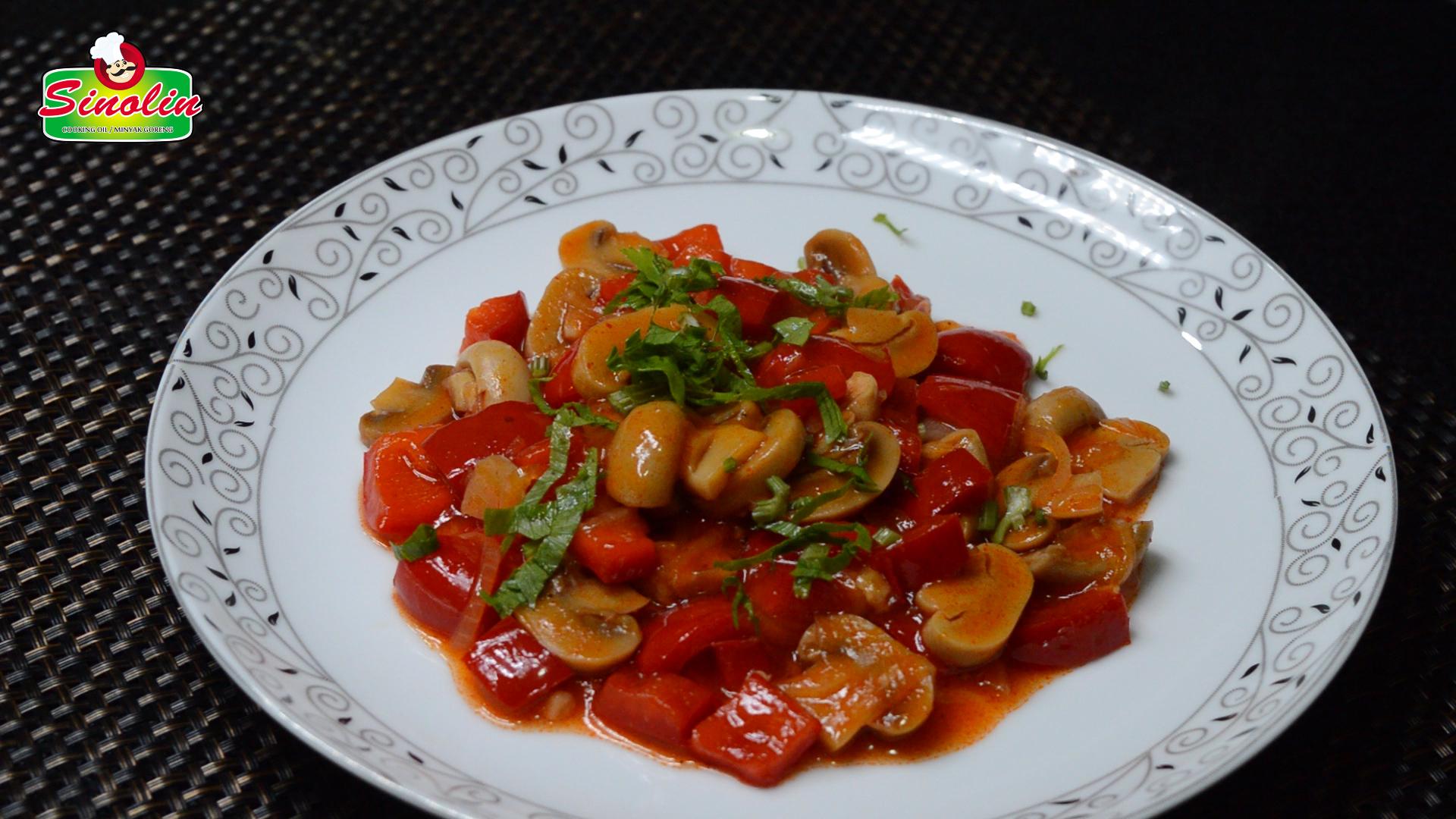 Italian Sauteed Mushrooms  by Dapur Sinolin