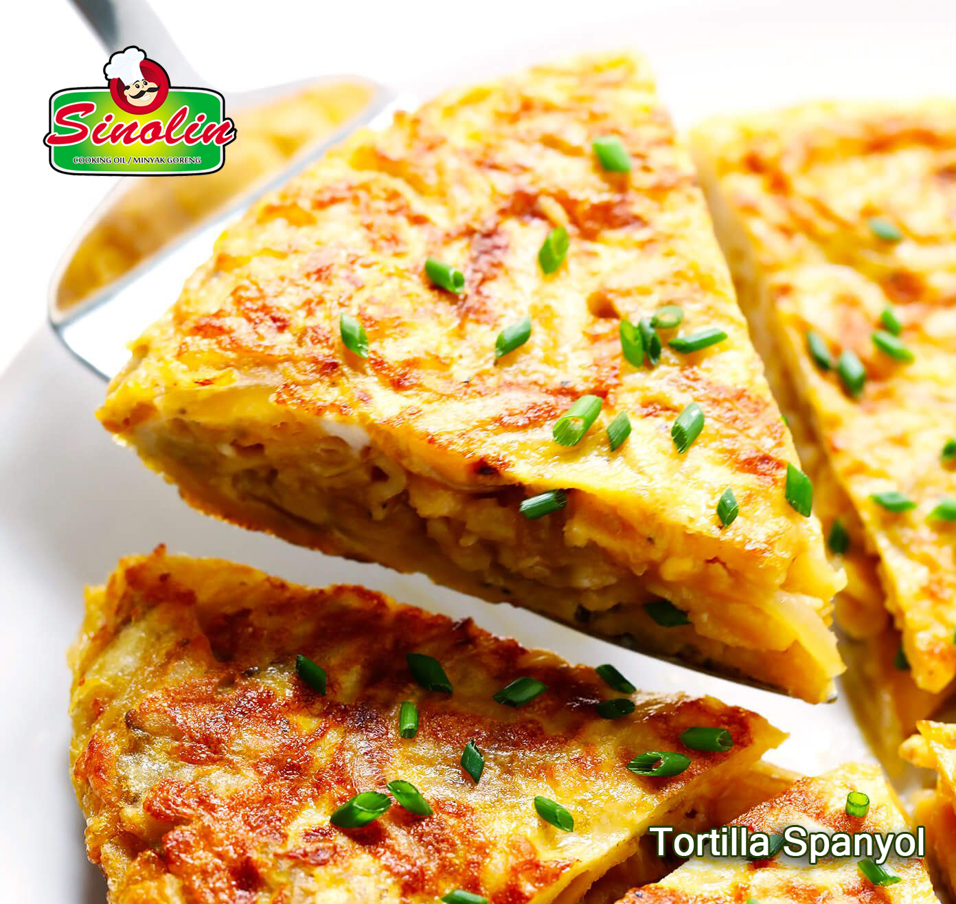 Tortilla Spanyol Oleh Dapur Sinolin