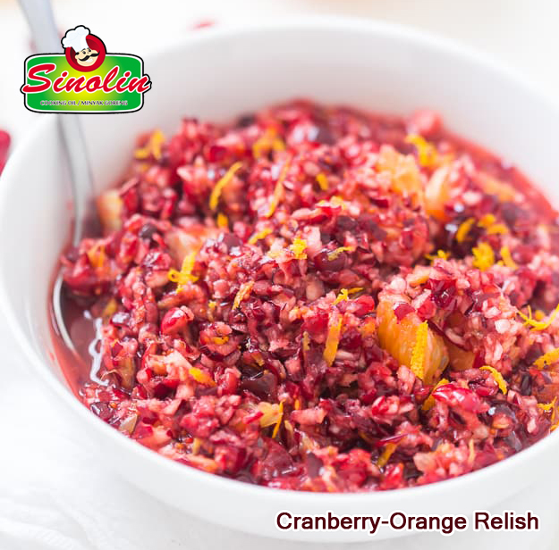 Cranberry-Orange Relish Oleh Dapur Sinolin