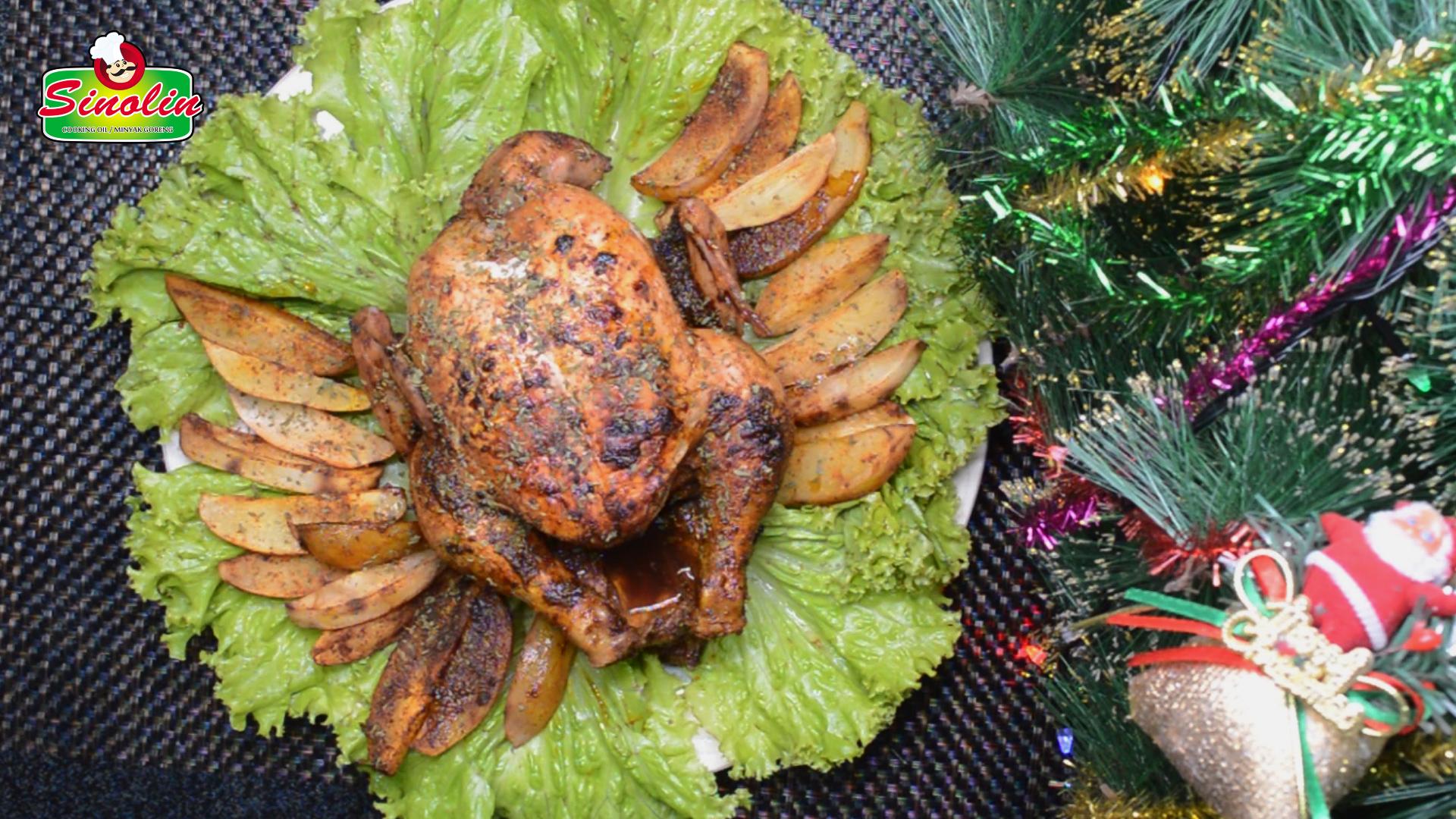 Roast Chicken by Dapur Sinolin