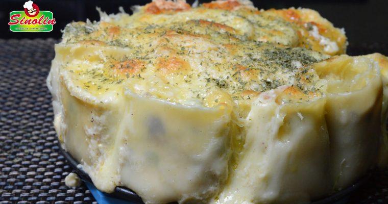 Ayam Alfredo Lasagna Roll-Ups Oleh Dapur Sinolin
