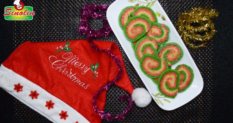 Natal Swirl Cookies Oleh Dapur Sinolin