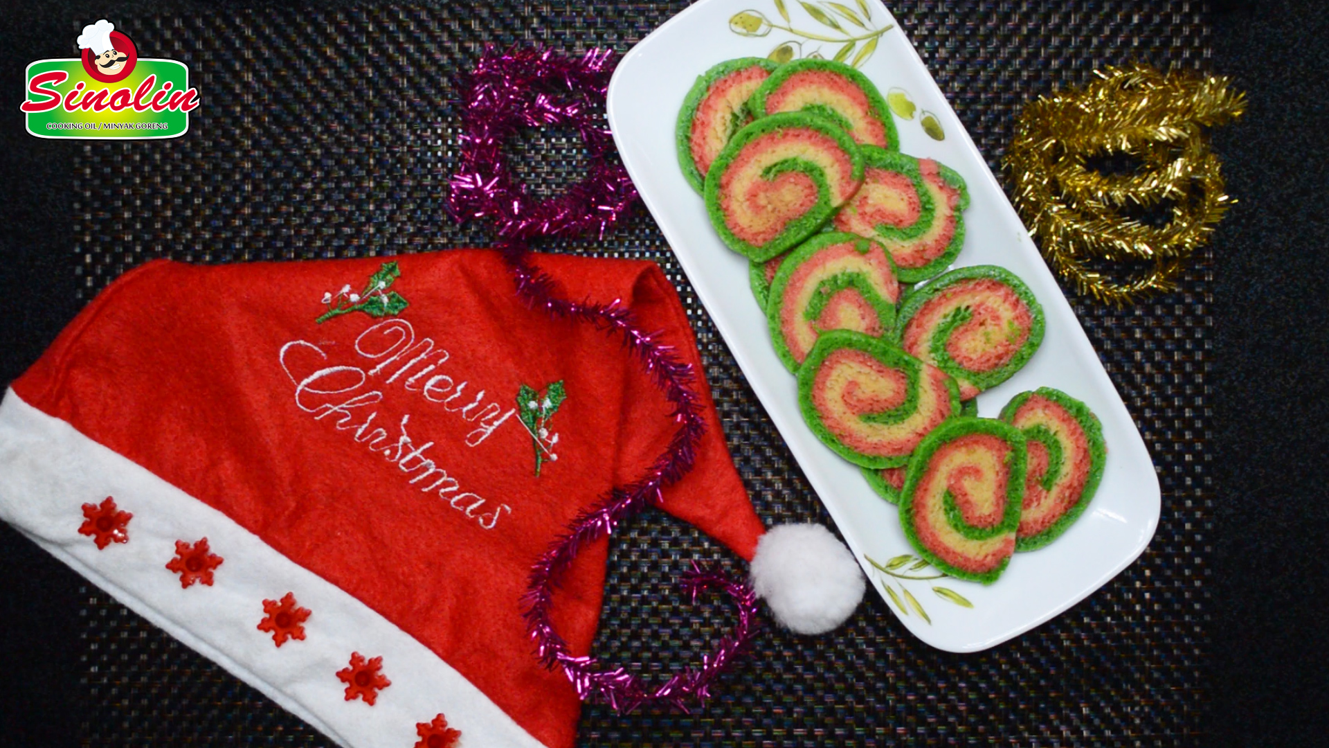Christmas Swirl Cookies by Dapur Sinolin