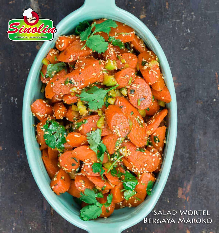 Salad Wortel Bergaya Maroko Oleh Dapur Sinolin