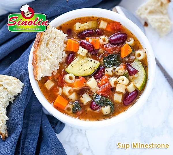 Sup Minestrone Oleh Dapur Sinolin