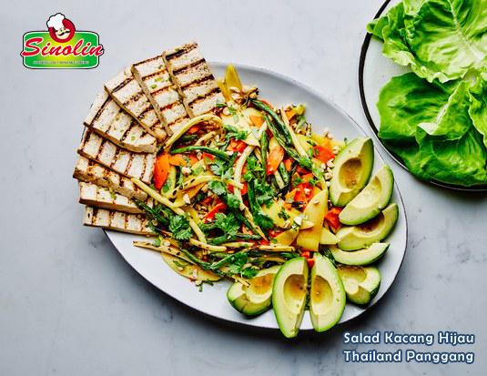 Salad Kacang Hijau Thailand Panggang oleh Dapur Sinolin