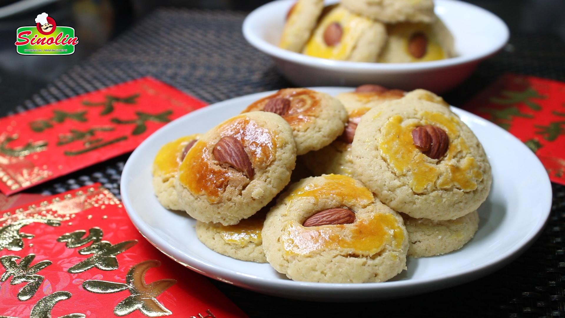 GLUTEN-FREE CHINESE ALMOND COOKIES by Dapur Sinolin