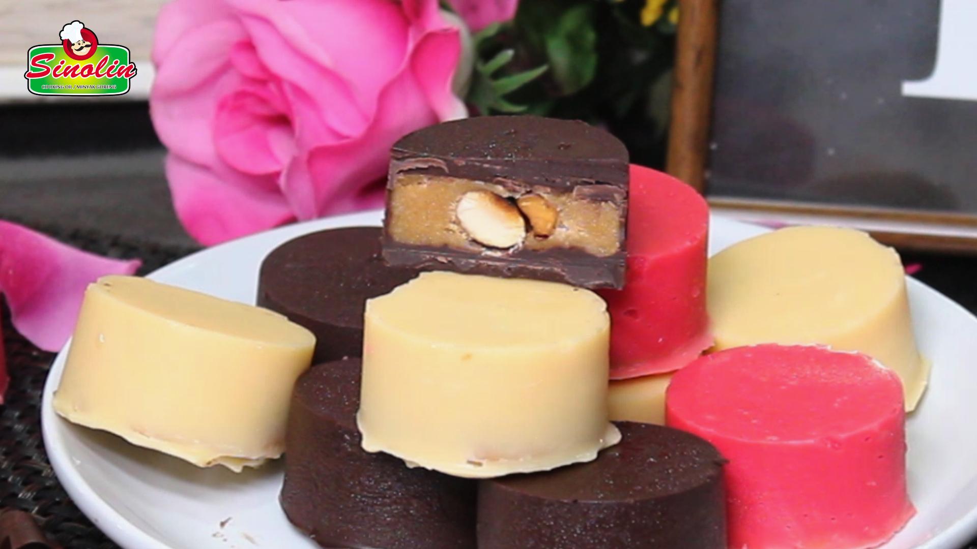 Cokelat Valentine Buatan Rumah oleh Dapur Sinolin