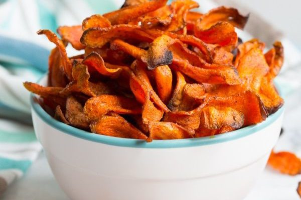 Healthy Baked Carrot Chips By Dapur Sinolin