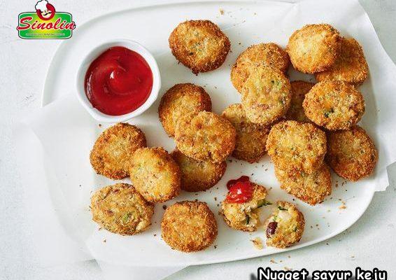 Nugget Sayur Keju Oleh Dapur Sinolin