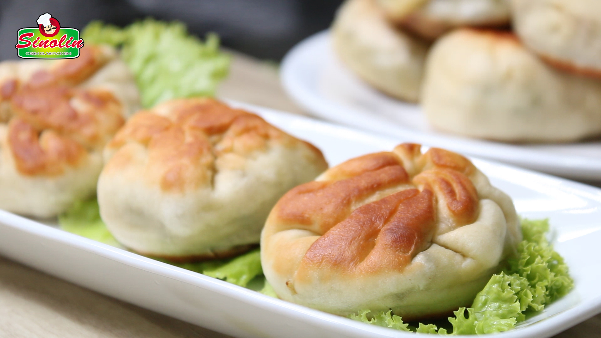 Pan-Fried Vegetable Buns By Dapur Sinolin