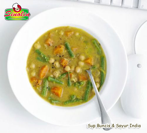 Indian chickpea & vegetable soup By Dapur Sinolin