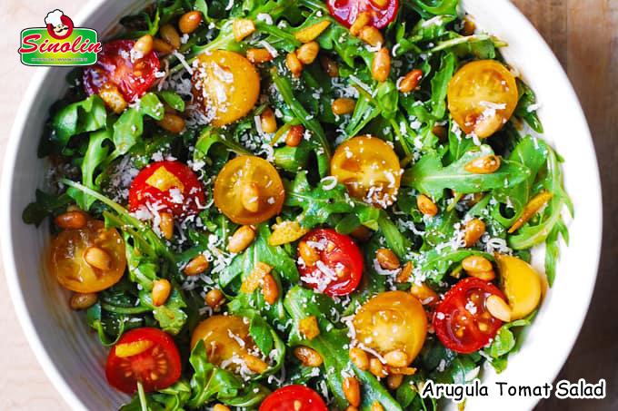 Salad Tomat Arugula Oleh Dapur Sinolin