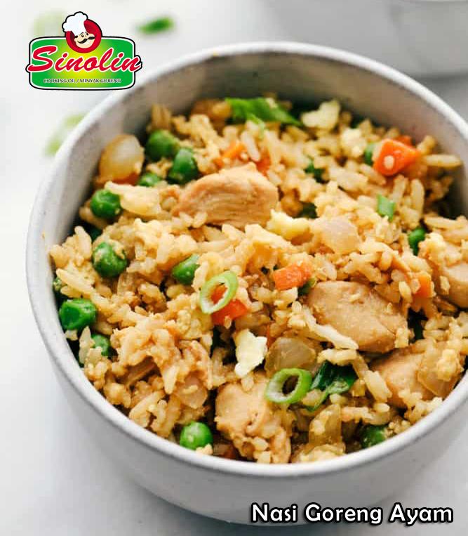 Chicken Fried Rice By Dapur Sinolin
