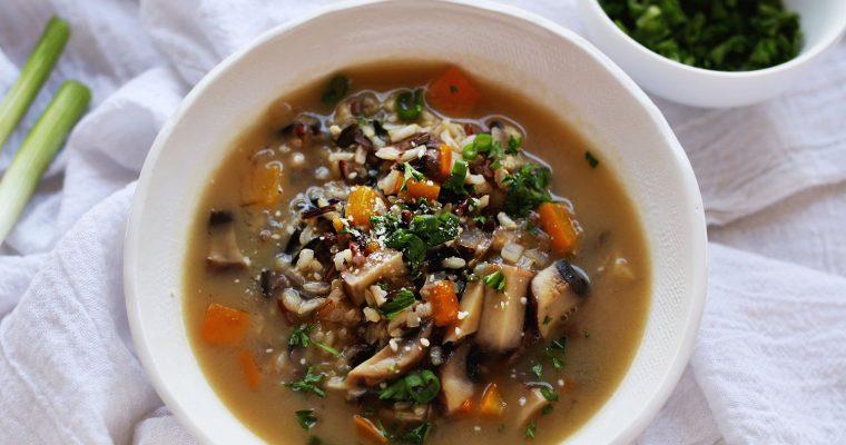 Resep: Nasi Liar dan Sup Risotto Jamur Oleh Dapur Sinolin