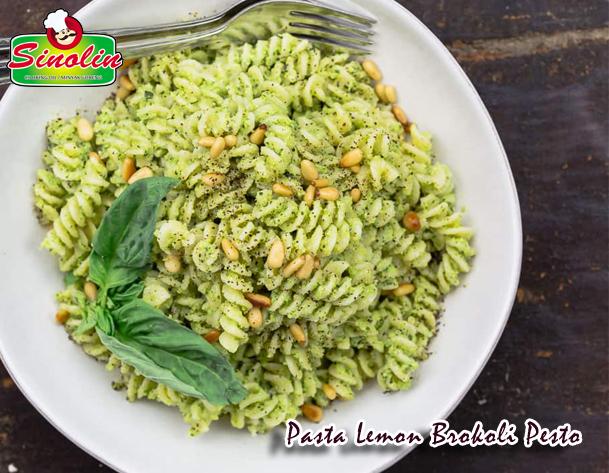Lemon Broccoli Pesto Pasta Recipe By Dapur Sinolin