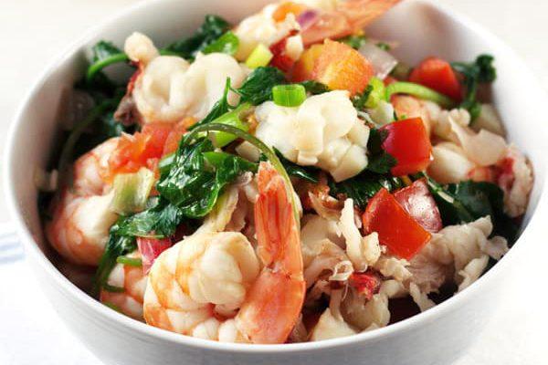 Resep: Sup Seafood Dengan Udang Dan Lobster Oleh Dapur Sinolin