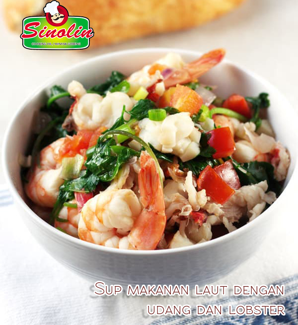 Recipe: Seafood Stew With Shrimp And Lobster By Dapur Sinolin