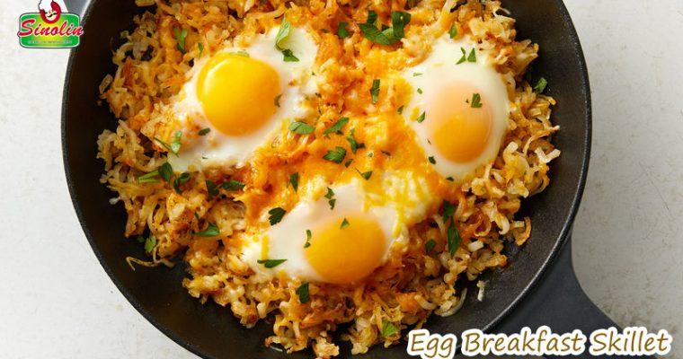 Resep: Egg Breakfast Skillet Oleh Dapur Sinolin