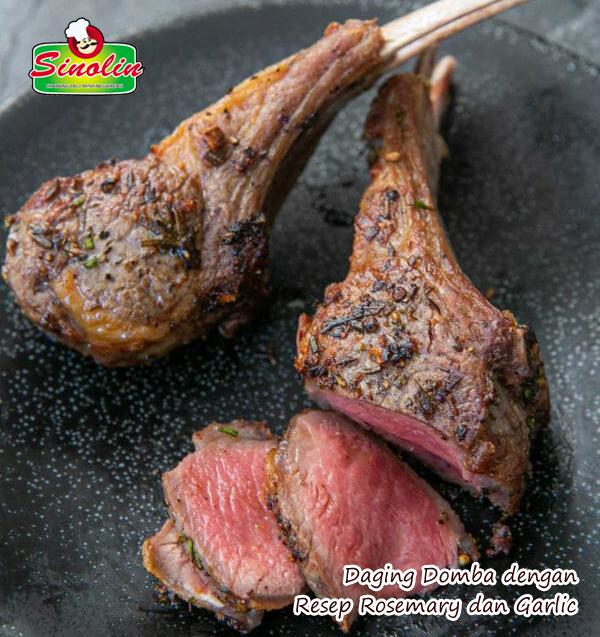 Daging Domba dengan Resep Rosemary dan Garlic Oleh Dapur Sinolin