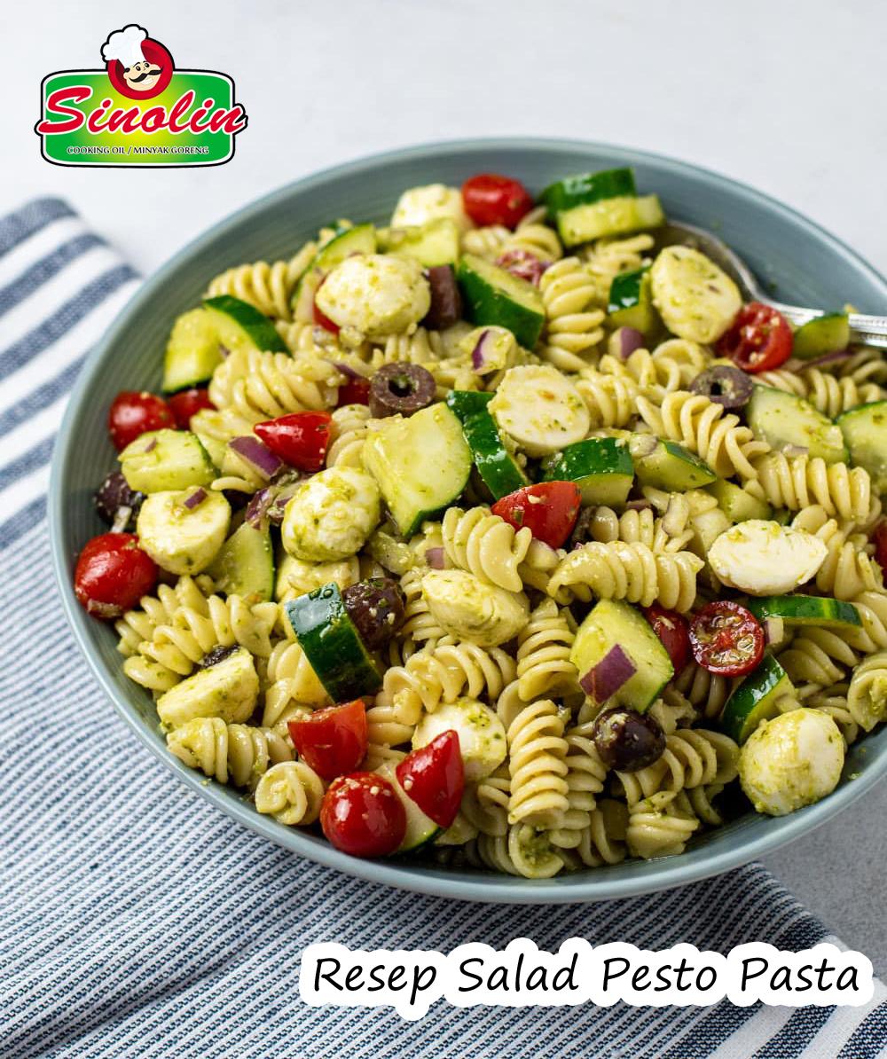 Resep Salad Pesto Pasta Oleh Dapur Sinolin