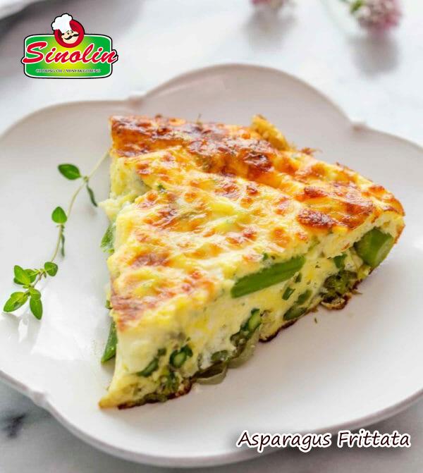 Asparagus Frittata Recipe By Dapur Sinolin