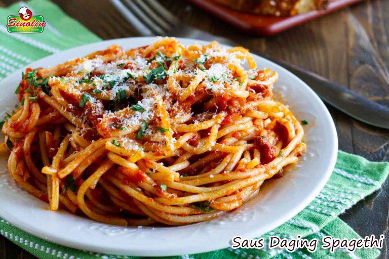 Saus Daging Spaghetti Mudah Oleh Dapur Sinolin