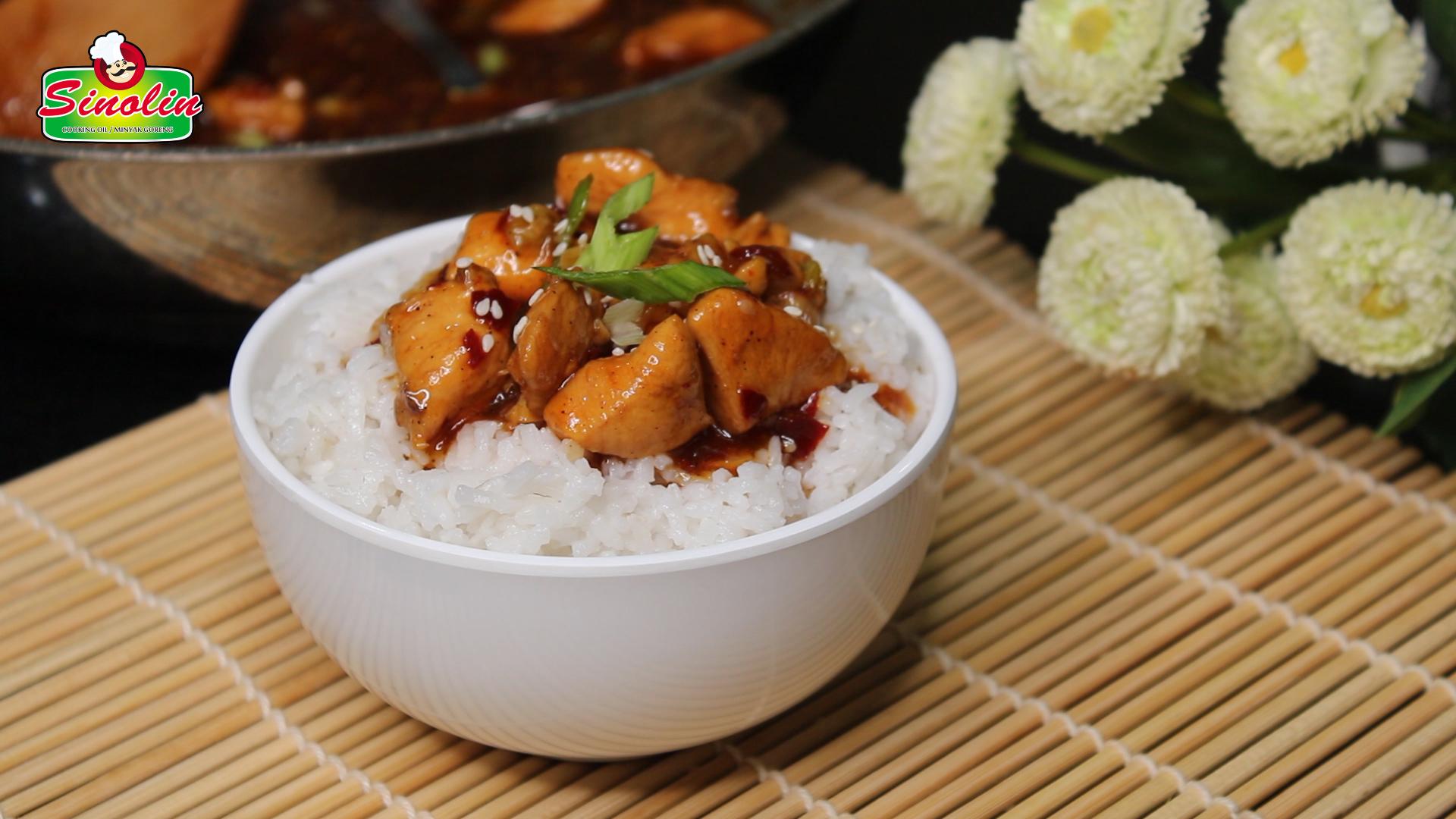 Bourbon Chicken by Dapur Sinolin
