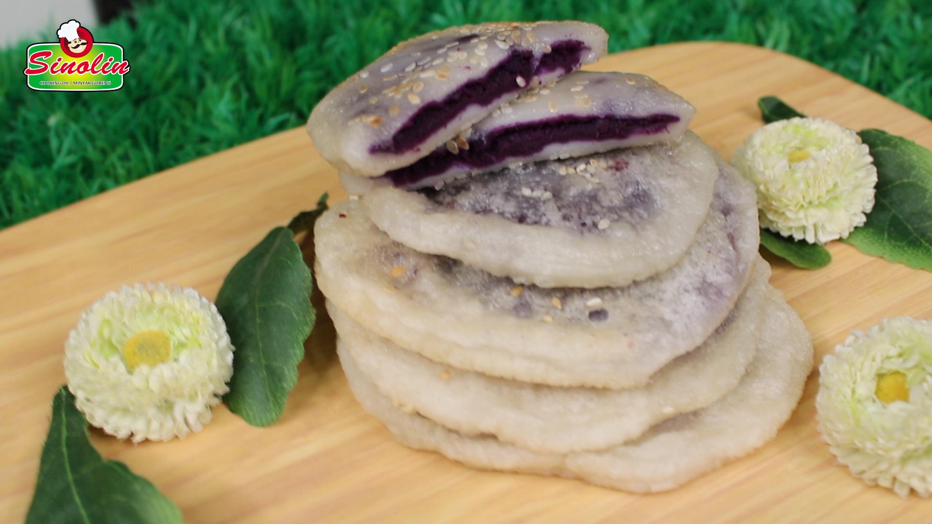 Purple Sweet Potato Cake Oleh Dapur Sinolin
