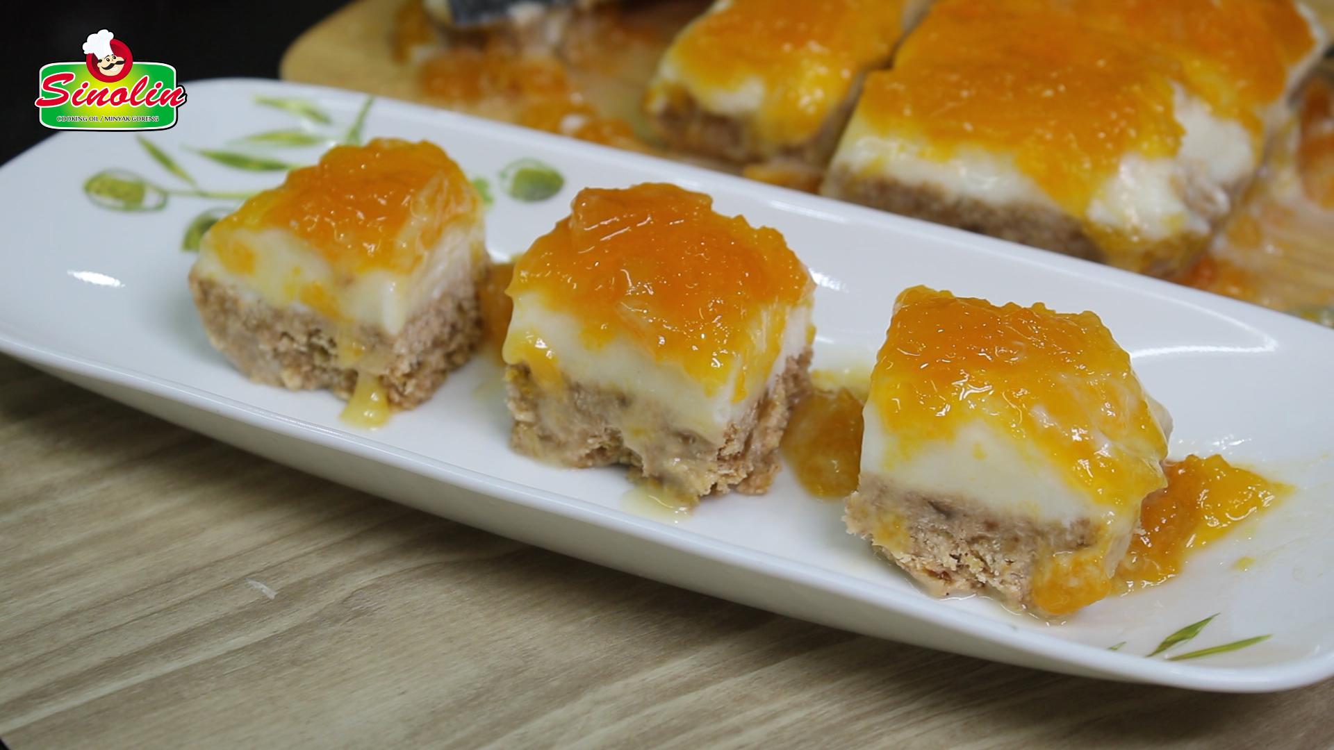 Frozen Yogurt Breakfast Bars By Dapur Sinolin