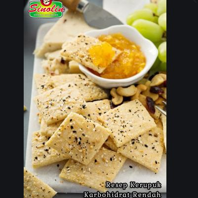Low Carb Crackers Recipe By Dapur Sinolin