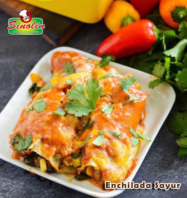 Enchilada Sayur Oleh Dapur Sinolin