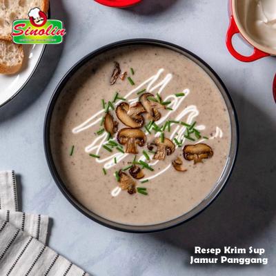 Resep Krim Sup  Jamur Panggang Oleh Dapur Sinolin