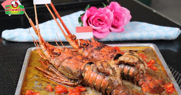 Lobster Tails with Garlic Butter By Dapur Sinolin