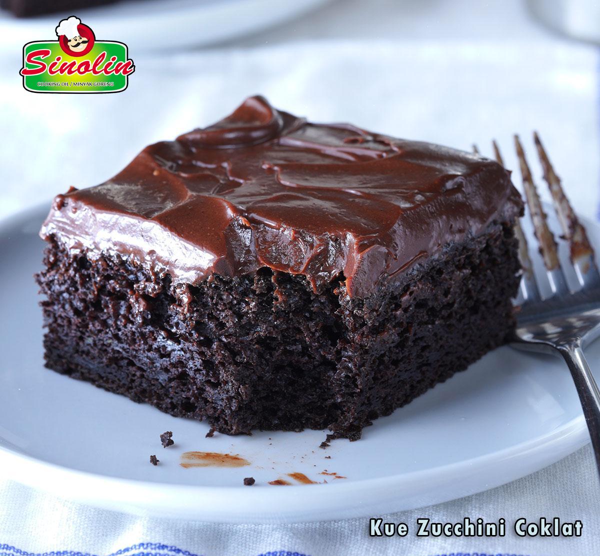 Kue Zucchini Coklat   Oleh Dapur Sinolin