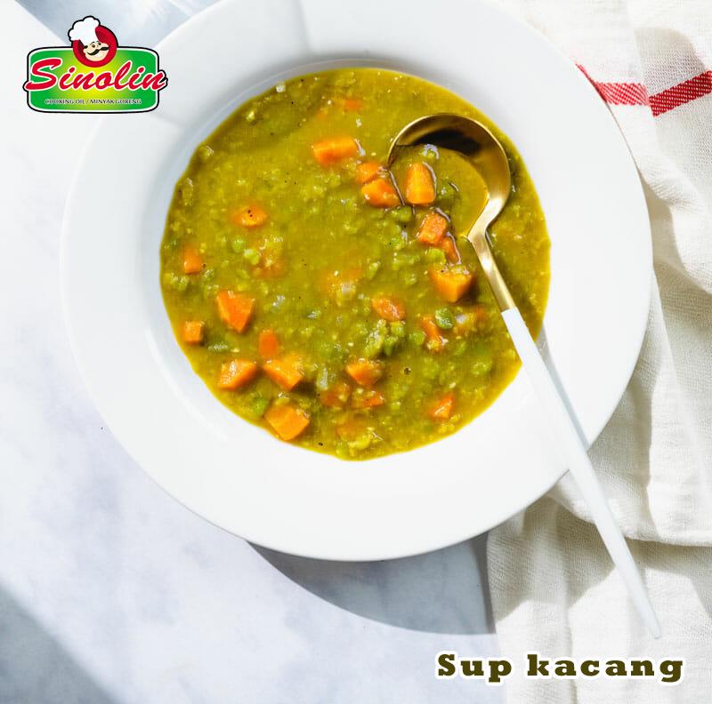 Sup kacang  Oleh Dapur Sinolin
