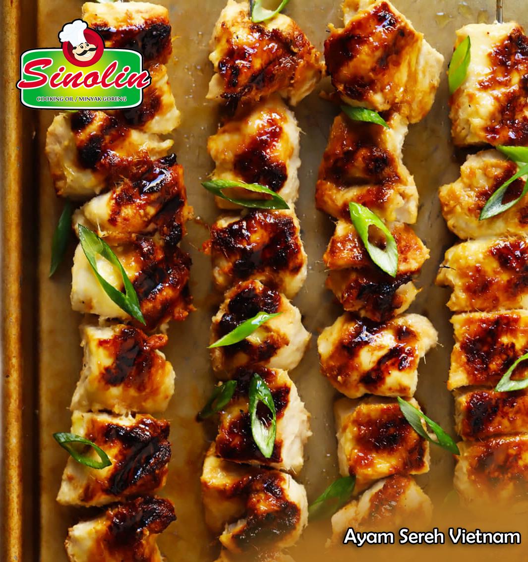 Ayam Sereh Vietnam Oleh Dapur Sinolin