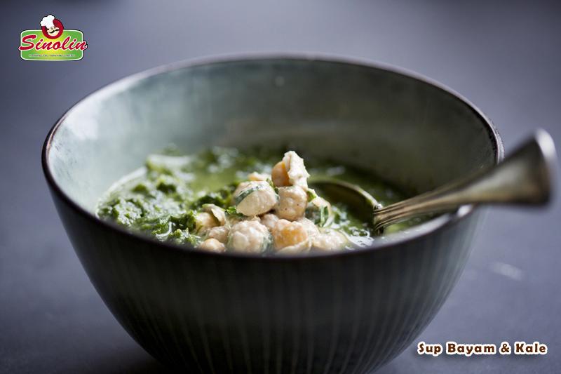 Sup Bayam & Kale Oleh Dapur Sinolin
