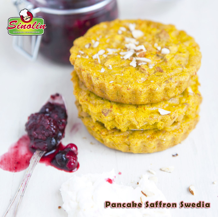 Pancake Saffron Swedia Oleh Dapur Sinolin